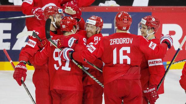 31мая. Рига. Россия— Швеция— 3:2Б. Фото Reuters