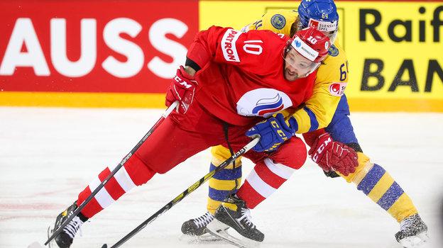 31мая. Россия— Швеция— 3:2Б. Фото IIHF