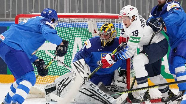 1мая. Рига. Италия— США— 2:4. Фото IIHF.