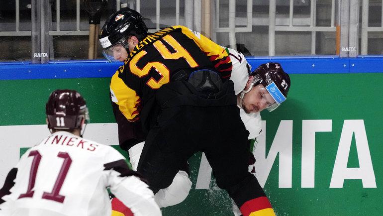 Германия— Латвия— 2:1. Фото Reuters