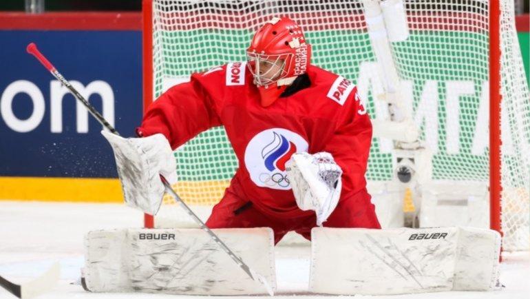 Александр Самонов. Фото IIHF.