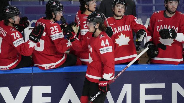 Хоккеисты сборной Канады. Фото Reuters