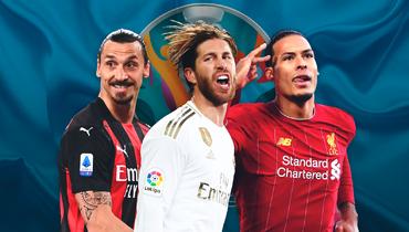 Ибрагимович, Серхио Рамос, ван Дейк иеще 13 крутых игроков, пропускающих Евро-2020. Есть даже футболист изРоссии