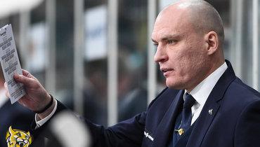 Разин, Хартли иНикитин претендуют наприз лучшему тренеру сезона вКХЛ