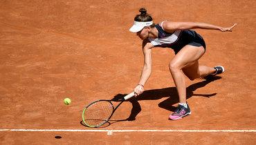 Кудерметова вылетела сRoland Garros после поражения отСиняковой вовтором круге