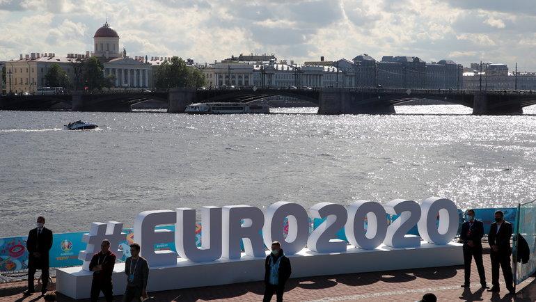 Вид наСанкт-Петербург. Фото Reuters