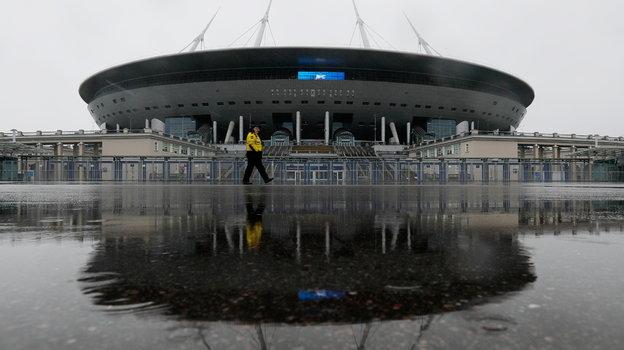 Вид настадион «Санкт-Петербург». Фото Reuters