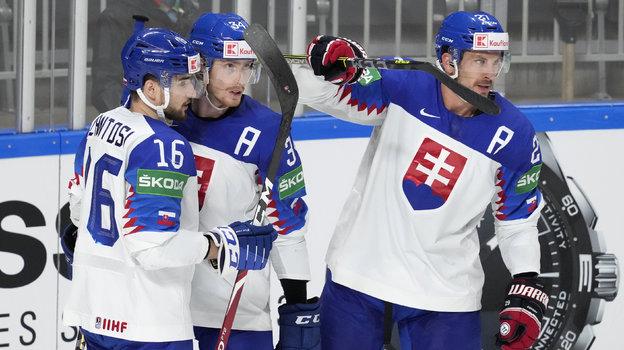 Сборная Словакии. Фото AFP