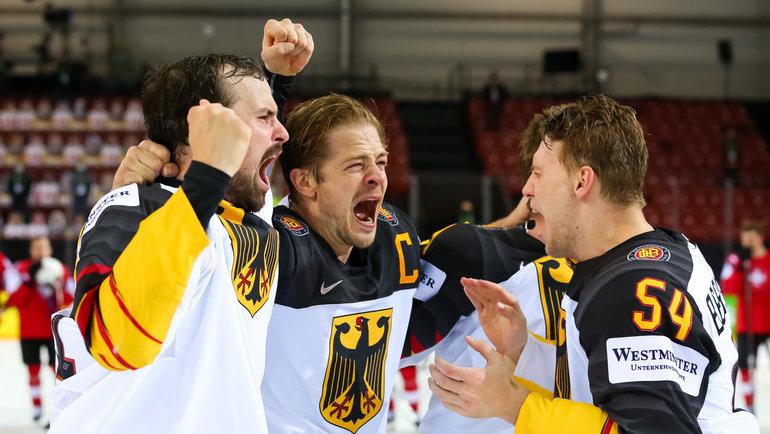 3июня. Швейцария— Германия— 2:3Б. Фото IIHF