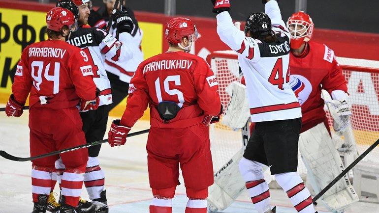 3июня. Рига. Россия— Канада 1:2 (ОТ).