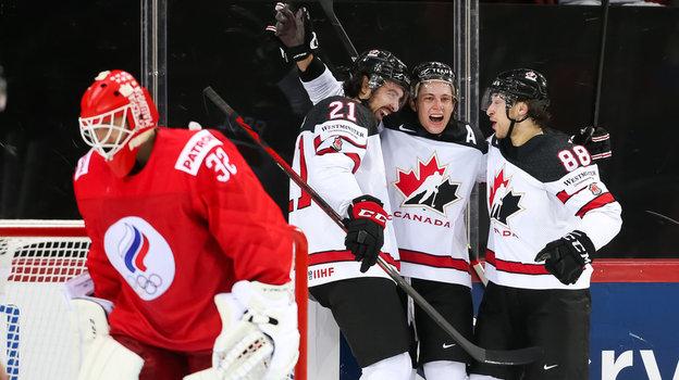 ЧМпохоккею 2021, Россия— Канада— 1:2, репортаж изРиги
