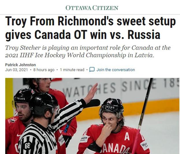 Ottawa Citizen— оматче Россия— Канада.