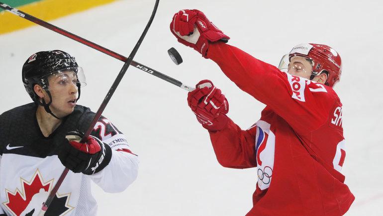 3июня. Рига. Россия— Канада— 1:2 ОТ. Фото Reuters