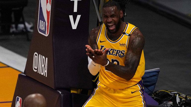 «Лейкерс» Леброна Джеймса вылетел изплей-офф НБА. Фото USA Today Sports