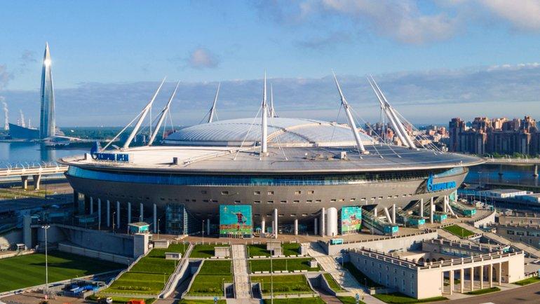 Санкт-Петербург, «Газпром Арена». Вместимость: 68 000 зрителей.