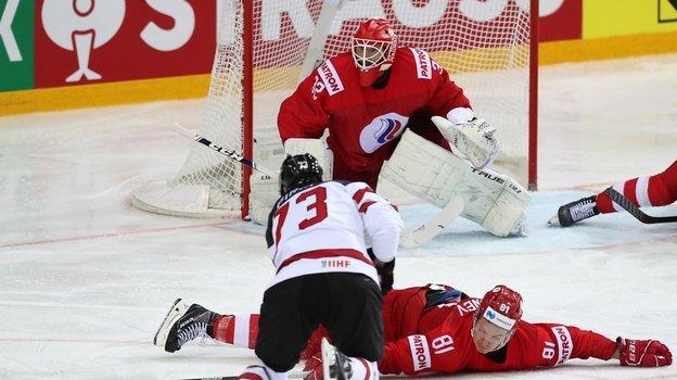 ЧетвертьфиналЧМ похоккею-2021, Россия— Канада— 1:2, разбор голов, как сыграл Сергей Бобровский