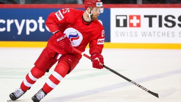 Михаил Григоренко. Фото IIHF