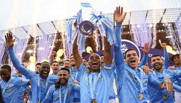 Шесть футболистов «Манчестер Сити» вошли всимволическую сборную сезона АПЛ