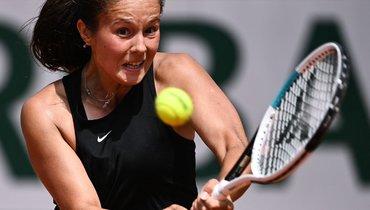 Касаткина завершила выступления наRoland Garros