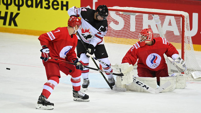 3июня. Рига. Россия— Канада— 1:2 ОТ. Фото AFP