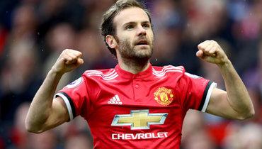 «Манчестер Юнайтед» ведет переговоры оновом контракте сХуаном Матой