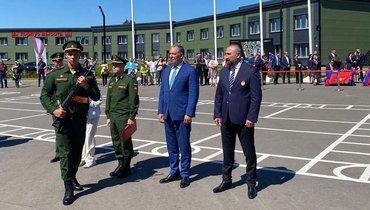 Ввоенно-патриотическом парке «Патриот» военную присягу приняли более 70 новобранцев спортивных рот ЦСКА
