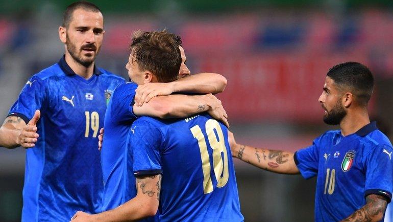 Италия— Чехия— 4:0. Фото Twitter