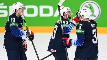 Хоккеисты сборной США. Фото AFP