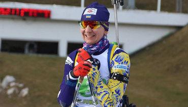 Украинская биатлонистка Пидгрушная вышла замуж исменила фамилию