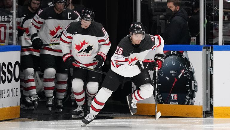 Сборная Канады обыграла США (4:2) ивышла вфинал ЧМ-2021. Фото IIHF
