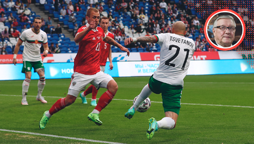 Геннадий Орлов: известный телекомментатор оконтрольном матче сборной России против Болгарии, 1:0, 5июня 2021