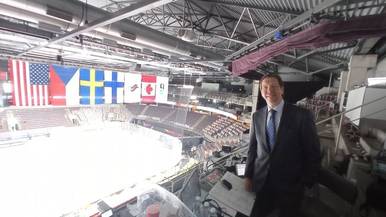 Комментатор канадского TSN иамериканского NBC Горд Миллер.