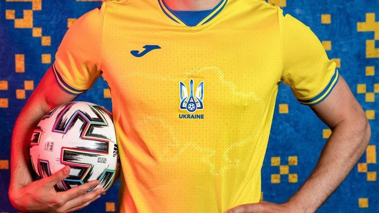 Сборная Украины показала специальную форму с силуэтом Крыма для Евро-2020.  Спорт-Экспресс