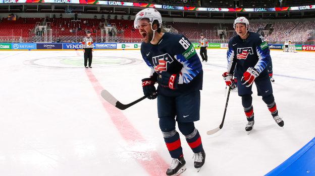 Сборная США похоккею. Фото IIHF