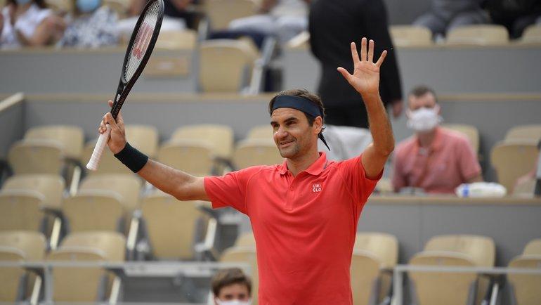 Роджер Федерер. Фото Roland Garros