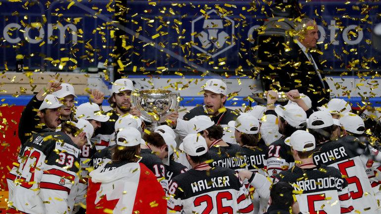 Сборная Канады выиграла чемпионат мира. Фото AFP
