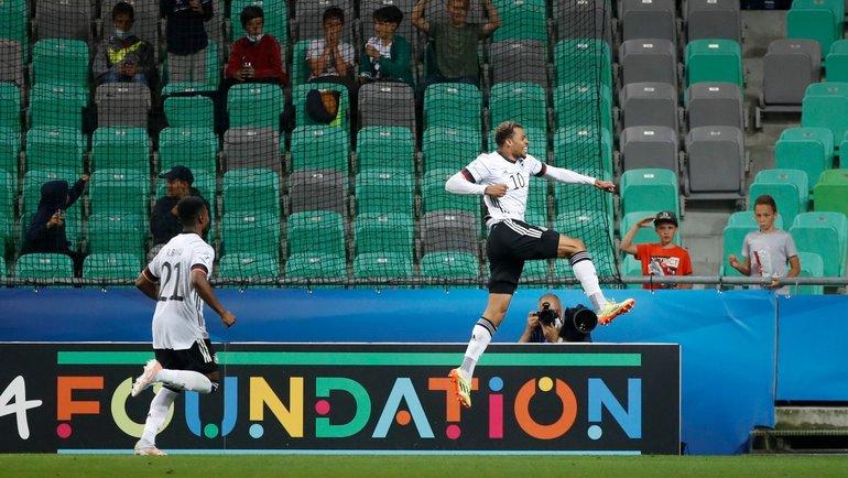 Молодежная сборная Германии— чемпион Европы. Фото Twitter