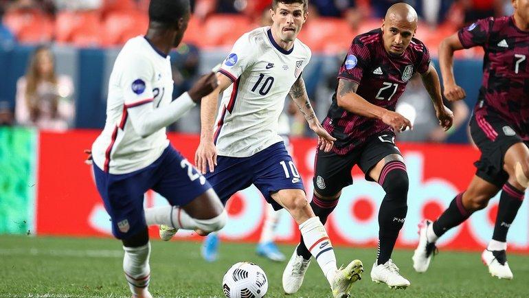 7июня. Лига наций КОНКАКАФ. США— Мексика— 3:2 ОТ. Фото Twitter