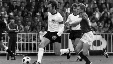 18июня 1972 года. Брюссель. ФРГ— СССР— 3:0. Франц Беккенбауэр (смячом).