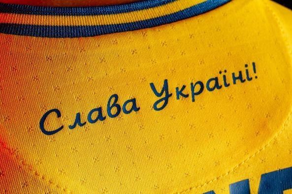 Новая форма сборной Украины. Фото Facebook Андрея Павелко.