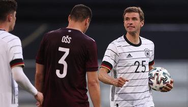 Германия разгромила Латвию сосчетом 7:1 втоварищеском матче