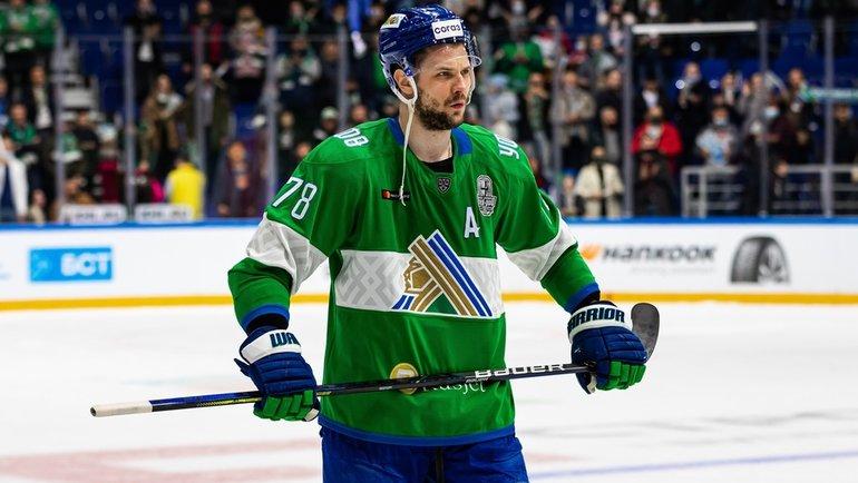 Александр Кадейкин подписал новый контракт с «Салаватом» на55 миллионов рублей. Фото ХК «Салават Юлаев»