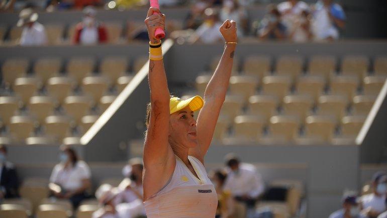 Анастасия Павлюченкова. Фото Roland Garros.