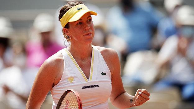 Анастасия Павлюченкова вышла вполуфинал турнира «Большого шлема» Roland Garros, 8июня 2021