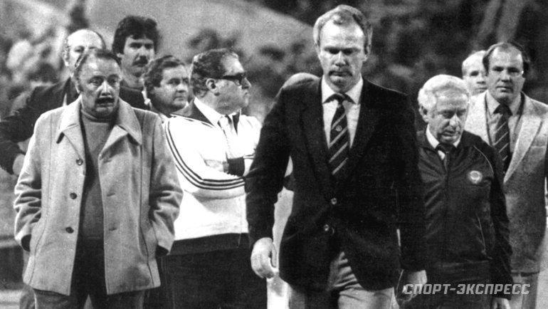 1983 год. Валерий Лобановский. Фото -