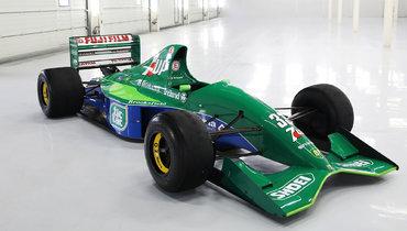 Первый болид Михаэля Шумахера в «Формуле-1» выставлен напродажу