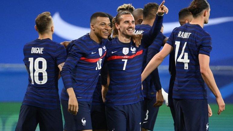 Сборная Франции. Фото УЕФА.