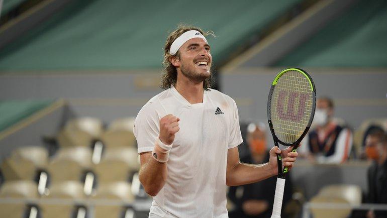 Стефанос Циципас. Фото Roland Garros.