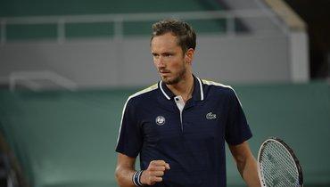 8июня. Roland Garros. Даниил Медведев.
