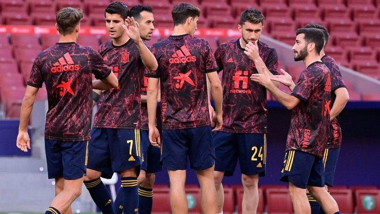 Вкаком составе сборная Испании выйдет наматч Евро-2020 против Швеции? Фото AFP